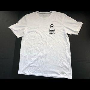 Notorious RBG T-Shirt WHITE Ruth Bader Ginsberg